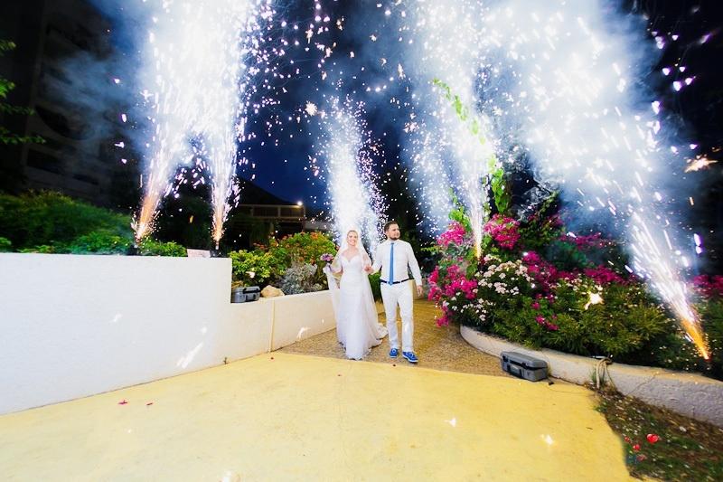 Холодный огонь на свадьбе